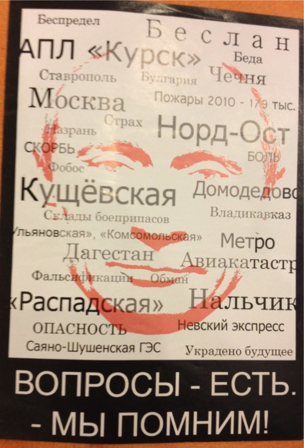 Adesivo contro Putin