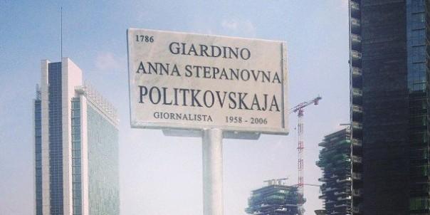 Giardini Anna Poliktovskaja, Milano
