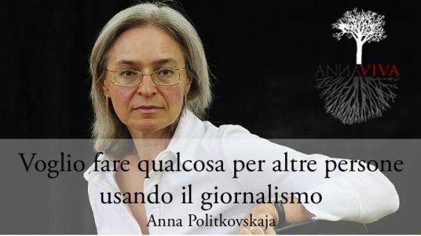 Ricordando Anna Politkovskaya