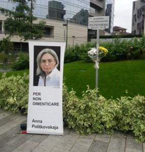 Giardini Anna Politkovskaya Milano