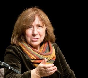 Premio nobel per la letteratura Swetlana Alexijewitsch